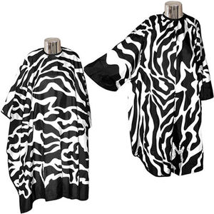 DMI Zebra Print Hairdressing Gowns