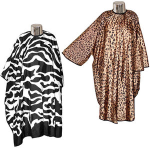 DMI Animal Print Hairdressing Gowns