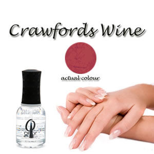 "Orly  Nail Lacquer ""Crawfords Wine"" 18ml"