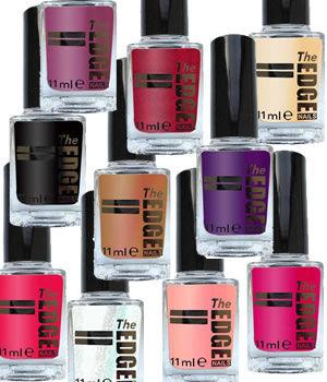 The EDGE Nails Coloured Nail Polish