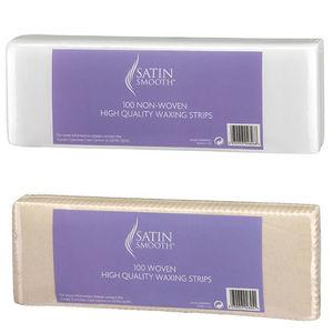 Satin Smooth Waxing Strips (Woven or Non-Woven)
