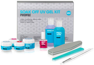 Salon System Profile Soak Off UV Gel Kit
