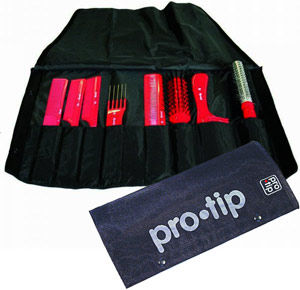 Pro-Tip Tool Roll Set (6 Combs, 2 Brushes)