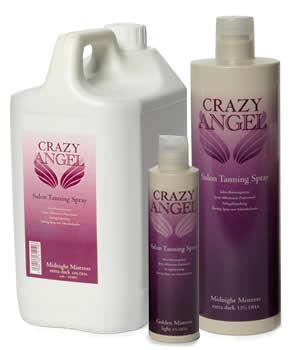 Crazy Angel Tanning Sprays