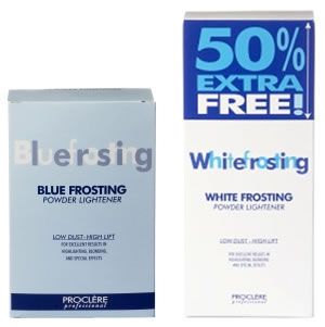 Proclère Professional White or Blue Frosting Powder Lightener