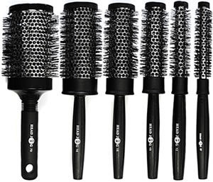 Head Jog Heat-Retaining Hair Brushes