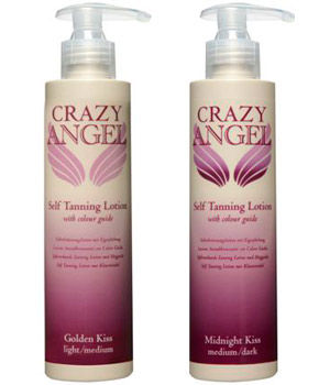 Crazy Angel Tanning Lotion