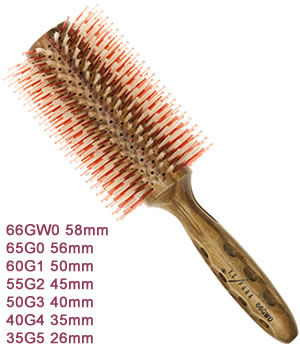 YS Park G-Series Curl Shine Styler Brushes