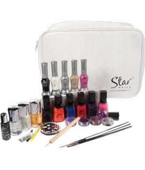 Star Nails Nail Art Complete Kit