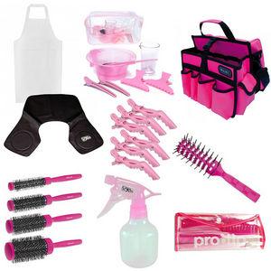 Basic Hairdressing College Kit: Pink