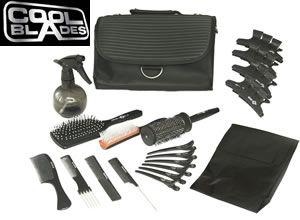 Basic Hairdressing College Kit: Black