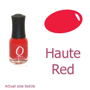 Orly Haute Red Mini Nail Polish
