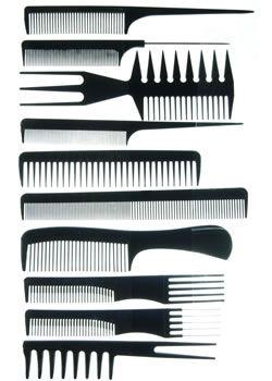 CoolBlades Professional Comb Set