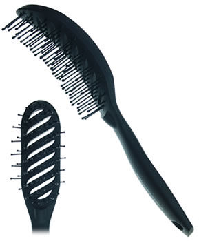 CoolBlades Soft-Touch Vent Brush