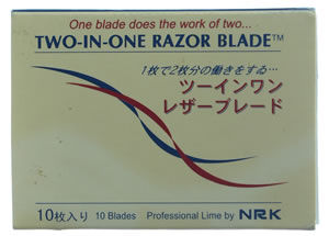 Coolblades Two-in-One Razor Blades (x10 or x100)
