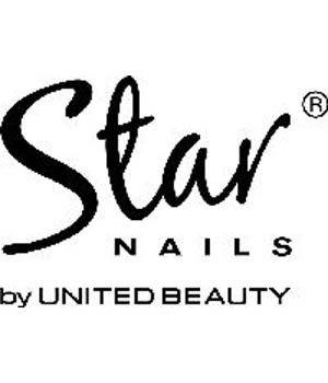 Star Nails Window Sticker