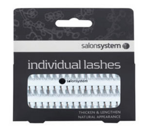 Salon System Individual Lashes (Black or Brown)