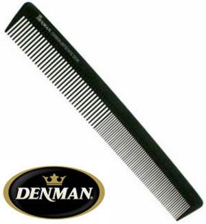 Denman DC08 Carbon Fibre Barbering Comb