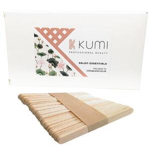 Kumi Wooden Waxing Spatulas (x100)