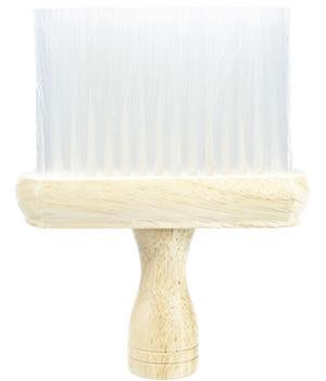 Head-Gear Wooden Neck Brush