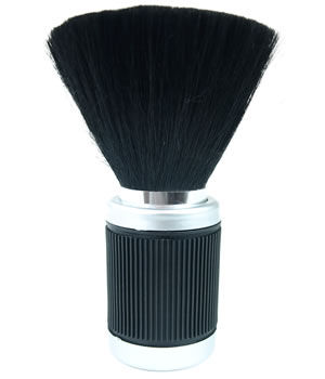 Head-Gear Soft-Grip Black Neck Brush