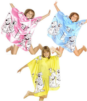 Hair Tools Children's Doggy Hairdressing Gown