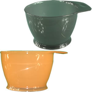 CoolBlades Tall Non-Slip Tint Bowls