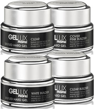 Salon System Gellux Profile UV/LED Hard Gels