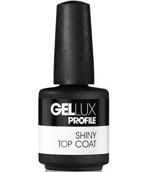 Salon System Gellux Profile Shiny Top Coat