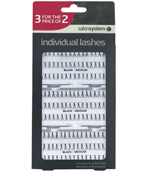 Salon System Individual Lashes 3 For 2