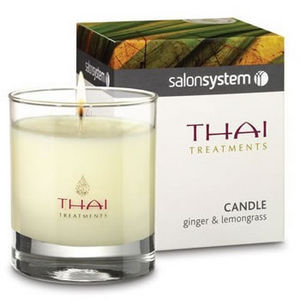 Salon System Thai Treatments Ginger & Lemongrass Candle