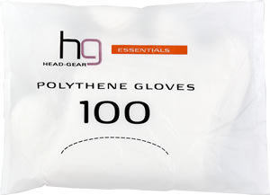 Head-Gear Polythene Gloves (x 100)