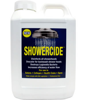 Showercide Shower Head Disinfectant