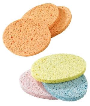 Sibel Wet Vegetable Make-Up Sponges (x3)