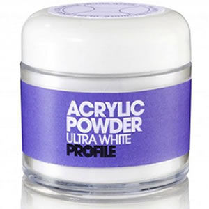 Salon System Profile Acrylic Powder Ultra White