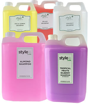 Style Care Everyday Salon Shampoos (4 litres)