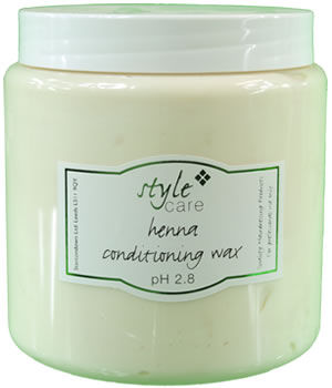 Style Care Henna Conditioning Wax