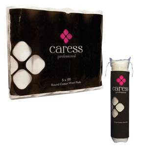 Caress Round Cotton Wool Pads x500