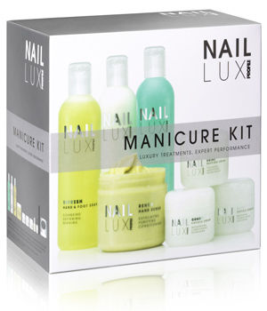 Salon System NailLUX Manicure Kit