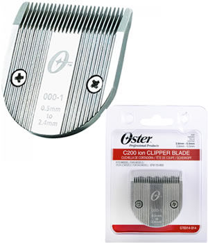 Oster C200 ion Clipper Replacement Blade