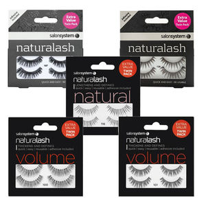 Salon System Naturalash Twin Packs