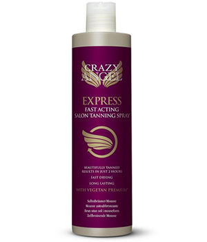Crazy Angel Express Fast Acting Salon Tanning Spray