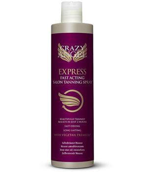 Crazy Angel Express Fast Acting Salon Tanning Spray