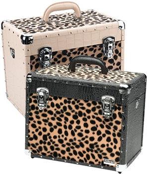 Sibel Crocodile & Leopard Beauty Case