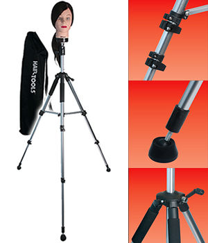Hair Tools Deluxe Training Head Tripod