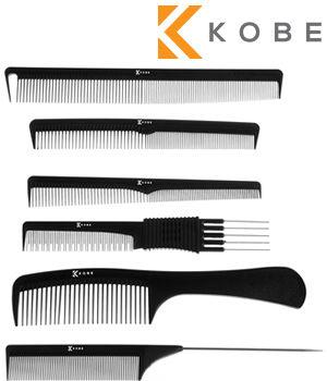 Kobe Set of 6 Carbon Combs