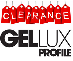 Salon System Gellux Gel Polish Clearance Sale