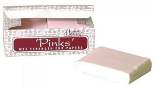 "Matty ""Pinks"" Wet Strength End Papers"