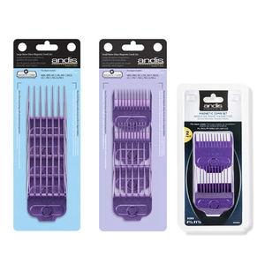 Andis Magnetic Nano Silver Clipper Comb Sets