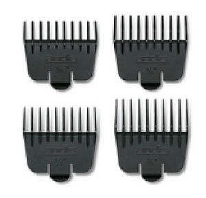 Andis Set of 4 Combs for T-Liner Wide Blade (#32240)